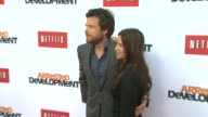 Jason Bateman Amanda Anka at Netflix's Arrested Development Season Four Los Angeles Premiere 4/29/2013 in Hollywood CA