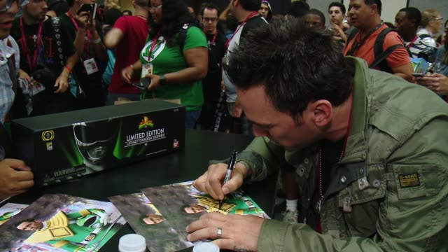 Jason David Frank at Saban's Power Rangers At San Diego ComicCon on July 26 2014 in San Diego California