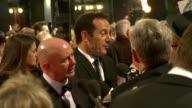 Jason Isaacs at the The Orange British Academy Film Awards at London England