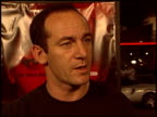 Jason Isaacs at the 'Veronica Guerin' Premiere on October 8 2003