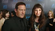 INTERVIEW Jason Isaacs on being at the event and on upcoming projects at the 2015 Critics' Choice Television Awards at The Beverly Hilton Hotel on...