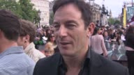 Jason Isaacs on being sad the fans the premiere his costars crew and more at the Harry Potter and the Deathly Hallows Part Two World Premiere at...