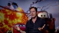 Jason Isaacs on John Lasseter at the Cars 2 Interviews at London England