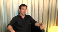 INTERVIEW Jason Isaacs on Shia LaBeouf at 'Things People Do' Interviews at Grand Hyatt Hotel on February 10 2014 in Berlin Germany
