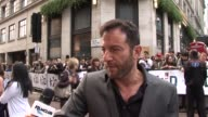 Jason Isaacs on what he's doing at the premiere on getting ahead in film at the The Kid UK Premiere at London England