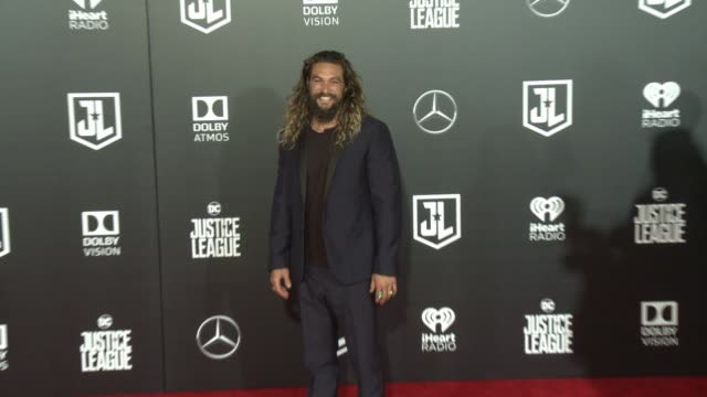 Jason Momoa at the 'Justice League' World Premiere at Dolby Theatre on November 13 2017 in Hollywood California