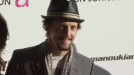 Jason Mraz at the 18th Annual Elton John AIDS Foundation Oscar Party at West Hollywood CA