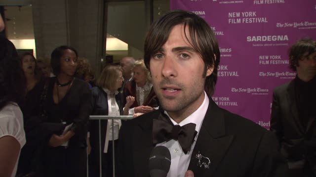 Jason Schwartzman on opening the New York Film Festival his role in the film if he has ever had to take a similar trip to reconnect with friends or...