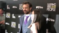 Jason Sudeikis Alison Brie at the Sleeping With Other People Premiere at ArcLight Theatre in Hollywood in Celebrity Sightings in Los Angeles