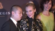 Jason Wu Diane Kruger and Arizona Muse at Debut of The St Regis Bal Harbour Resort Residences on 3/17/2012 in Miami FL United States