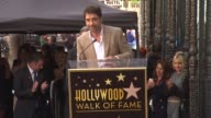 Javier Bardem thanks those close to him at Javier Bardem Honored with Star on the Hollywood Walk of Fame in Hollywood CA on 11/8/12