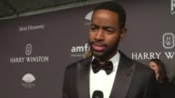 INTERVIEW Jay Ellis talks about the countdown to a cure at 19th Annual amfAR New York Gala at Cipriani Wall Street on February 08 2017 in New York...