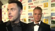 INTERVIEW Jaymi Hensley on the awards and X Factor at the Attitude Magazine Awards on 13th October 2014 in London England
