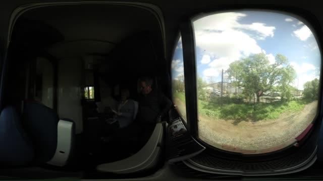 'Jean Bartlett and David Bartlett enjoy their sleeper car on Amtrak's California Zephyr during its daily 2438mile trip to Emeryville/San Francisco...