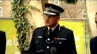 Sir Paul Stephenson statement Sir Paul Stephenson press conference SOT Over the past 10 weeks the inquest has heard in great detail about the events...
