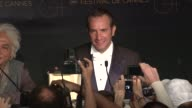 Jean Dujardin at the Winners Press Conference Reactions 64th Cannes Film Festival at Cannes