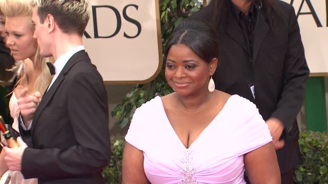 Jean Dujardin George Clooney Octavia Spencer at 69th Annual Golden Globe Awards Arrivals on January 15 2012 in Beverly Hills California
