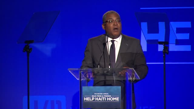 SPEECH Jean Max Bellerive on Sean Penn and Haiti at Sean Penn Friends HELP HAITI HOME A Gala to Benefit J/P Haitian Relief Organization Presented by...