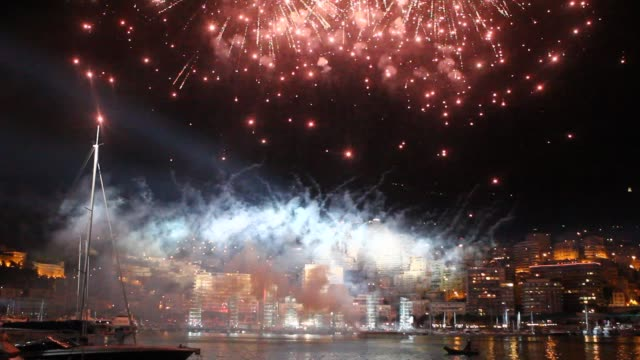 Jean Michel Jarre concert and fireworks at the Monaco Royal Wedding Jean Michel Jarre Concert at Monaco