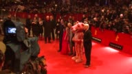 Jean Reno Steve Martin Aishwarya Rai and Pink Panther at the 59th Berlin Film Festival Pink Panther 2 Premiere at Berlin