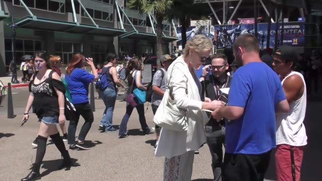 INTERVIEW Jean Smart on cosplay at Celebrity Sightings at San Diego ComicCon International on July 21 2017 in San Diego California