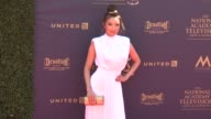 Jeannie Mai at the 44th Annual Daytime Emmy Awards at Pasadena Civic Auditorium on April 30 2017 in Pasadena California