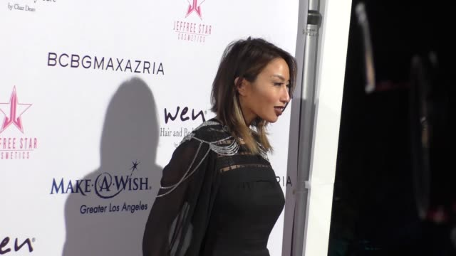 Jeannie Mai at the MakeAWish Greater Los Angeles Fashion Fundraiser at Taglyan Cultural Complex in Hollywood at Celebrity Sightings in Los Angeles on...