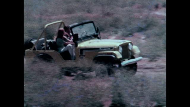 1974 Jeep CJ montage