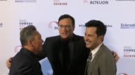 Jeff Franklin Bob Saget and Jonathan Silverman at the Cool Comedy Hot Cuisine 30th Annual Benefit For The Scleroderma Research Foundation at the...