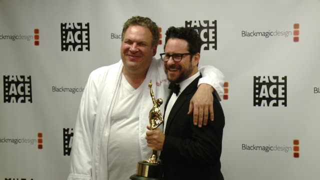 Jeff Garlin JJ Abrams at 67th Annual ACE Eddie Awards in Los Angeles CA