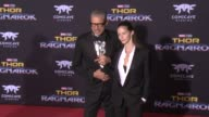 Jeff Goldblum and Emilie Livingston at the 'Thor Ragnarok' Premiere at the El Capitan Theatre on October 10 2017 in Hollywood California