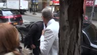 Jeff Goldblum arrives at the Today show in Rockefeller Center in Celebrity Sightings in New York