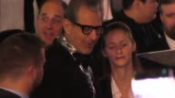 Jeff Goldblum arriving at the Thor Premiere at El Capitan Theatre in Hollywood on October 10 2017 at Celebrity Sightings in Los Angeles