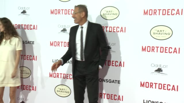 Jeff Goldblum at the 'Mortdecai' Los Angeles Premiere at TCL Chinese Theatre on January 21 2015 in Hollywood California
