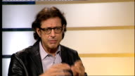 Jeff Goldblum interview Goldblum interview SOT Themes in the play that are relevant to current economic situation Love the theatre in London the...