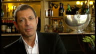Jeff Goldblum makes West End stage debut in at the Old Vic Goldblum interview SOT