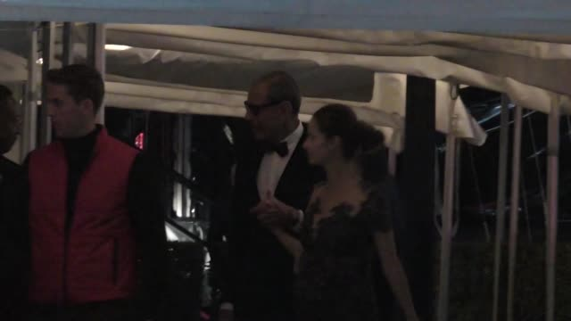 Jeff Goldblum outside the Vanity Fair Oscar Party in Celebrity Sightings in Los Angeles