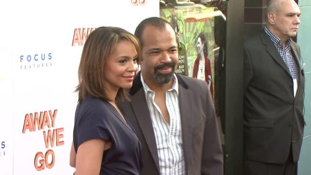 Jeffrey Wright and Carmen Ejogo at the 'Away We Go' Screening at New York NY