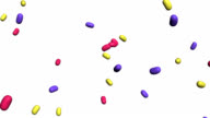 jelly beans falling
