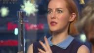 Jena Malone at 'Angelica' Interviews 65th Berlin Film Festival at Grand Hyatt Hotel on February 07 2015 in Berlin Germany