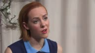 INTERVIEW Jena Malone on being at the festival what attracted her to the role at 'Angelica' Interviews 65th Berlin Film Festival at Grand Hyatt Hotel...