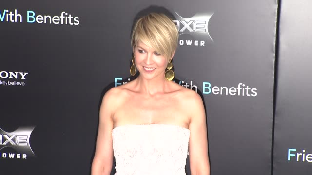 Jenna Elfman at the 'Friends With Benefits' New York Premiere Arrivals at New York NY