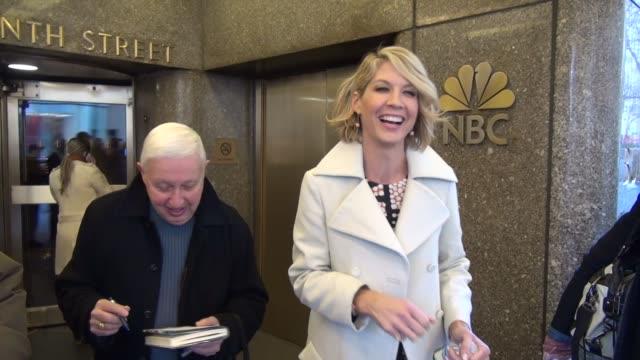 Jenna Elfman at the NBC Studios in New York NY on 1/10/13