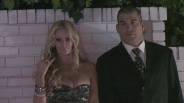 Jenna Jameson and Tito Ortiz at Chateau Marmont in West Hollywood 01/15/11 at the Celebrity Sightings in Los Angeles at Los Angeles CA
