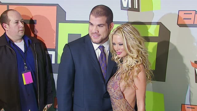 Jenna Jameson and Tito Ortiz at the VH1 Big in '06 at Sony Studios in Culver City California on December 2 2006