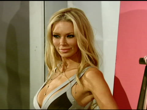 Jenna Jameson at the Jenna Jameson Unveils PETA Ad at Smashbox Studios in Los Angeles California on March 10 2008