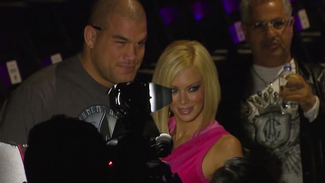 Jenna Jameson at the MercedesBenz Fall 2007 LA Fashion Week Ed Hardy Runway at Smashbox in Culver City California on March 19 2007