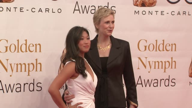 Jenna Ushkowitz and Jane Lynch at the 50th Monte Carlo TV Festival Closing Ceremony at MonteCarlo