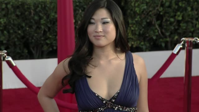 Jenna Ushkowitz at the 16th Annual Screen Actors Guild Awards Arrivals at Los Angeles CA