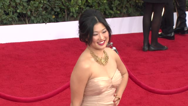 Jenna Ushkowitz at the 17th Annual Screen Actors Guild Awards Arrivals at Los Angeles CA